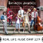 Band Camp Press Photo Bathroom Jamboree (to print)